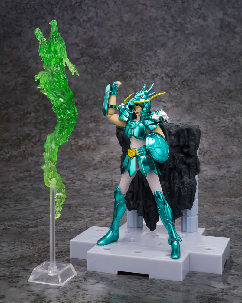 Saint Seiya D.D.Panoramation A.Fig. Rising Dragon Punch Dragon Shiryu 10 cm