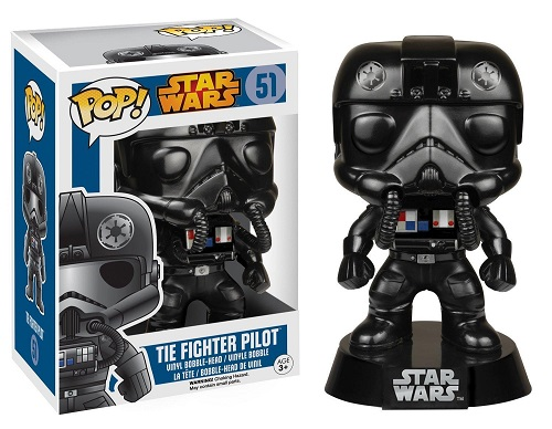 Star Wars POP! Vinyl Bobble-Head Figure Tie Fighter Pilot 9 cm