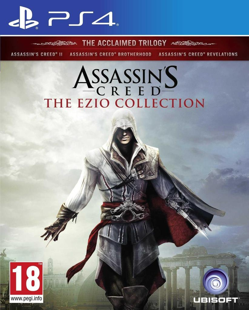 Assassin's Creed: The Ezio Collection PS4 (Novo)