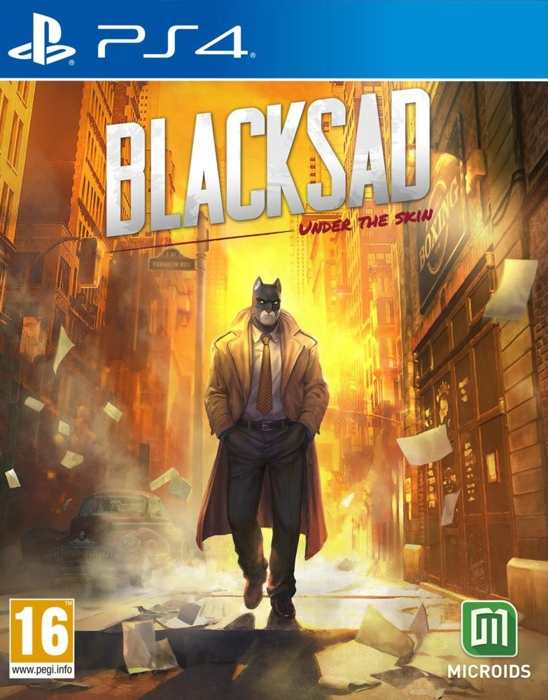 Blacksad: Under The Skin Limited Editon PS4 (Novo)