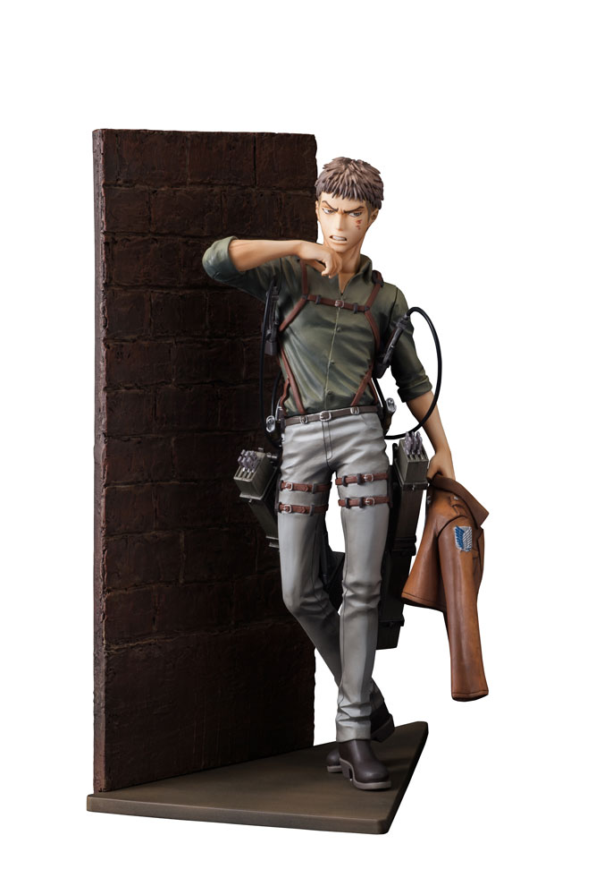 Attack on Titan Hdge Technical Statue No. 31+ Jean Kirstein Shingeki 22 cm