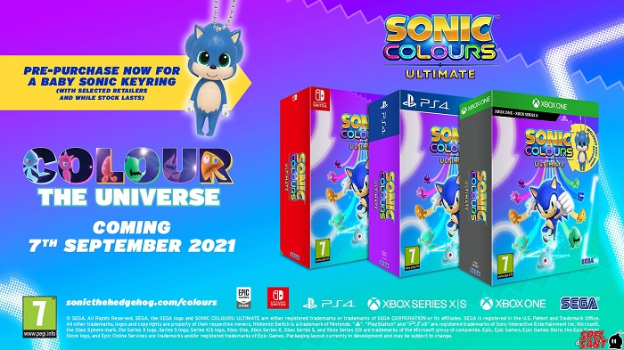 Sonic Colors Ultimate Day One Edition PS4 (Novo)