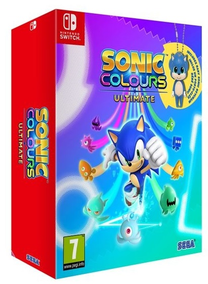Sonic Colors Ultimate Day One Edition Nintendo Switch (Novo)