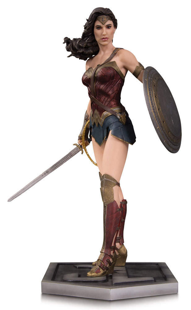 Justice League Movie Statue Wonder Woman 33 cm