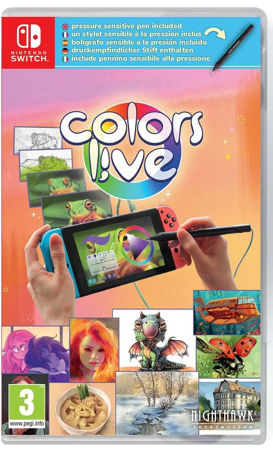 Colors Live! + Caneta Nintendo Switch (Novo)