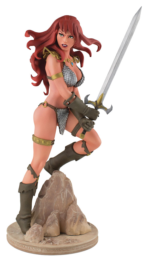 Red Sonja Statue Red Sonja by Amanda Conner 19 cm