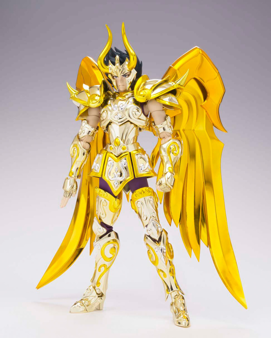 Saint Seiya Soul of Gold SCME Action Fig. Capricorn Shura God Cloth 18 cm