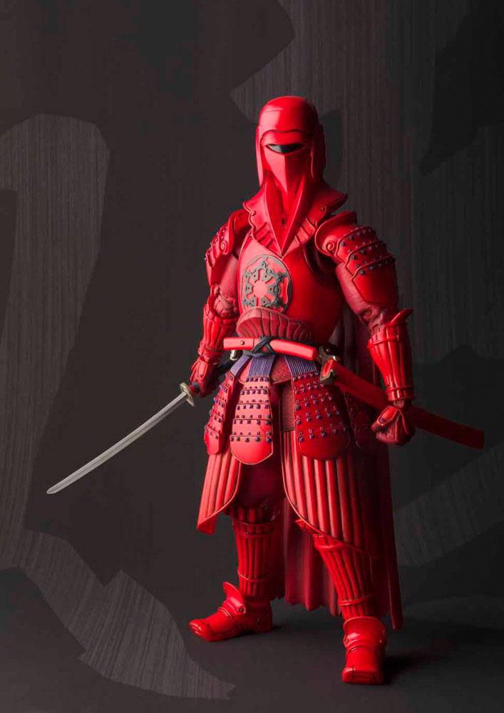 Star Wars Meisho Movie Realization Action Fig. Akazonae RoyalGuard Tamashii
