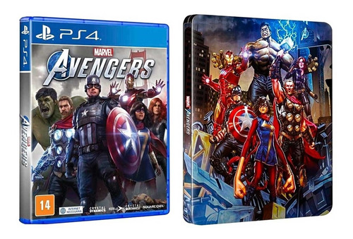 Marvel's Avengers Steelbook Limited Edition PS4 (Novo)
