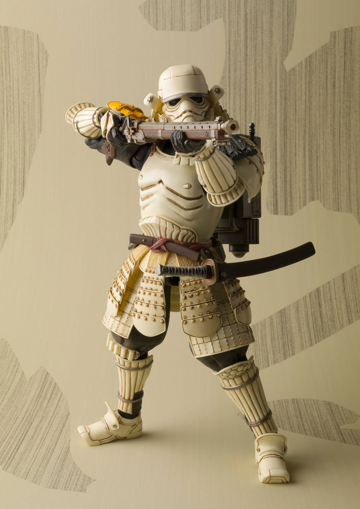 Star Wars Meisho Movie Realization Action Figure Teppo Ashigaru Sandtrooper