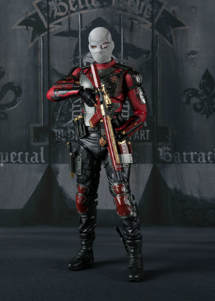 Suicide Squad S.H. Figuarts Action Figure Deadshot Tamashii Web Exclusive