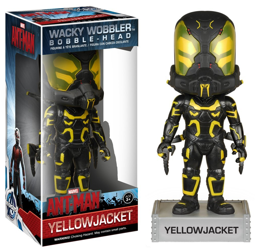 Ant-Man Wacky Wobbler Bobble-Head Yellowjacket 18 cm