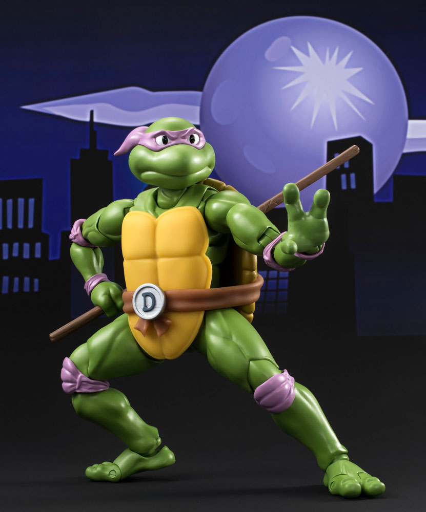 Teenage Mutant Ninja Turtles S.H. Figuarts Action Figure Donatello Tamashii