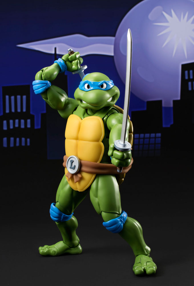 Teenage Mutant Ninja Turtles S.H. Figuarts Action Figure Leonardo Tamashii
