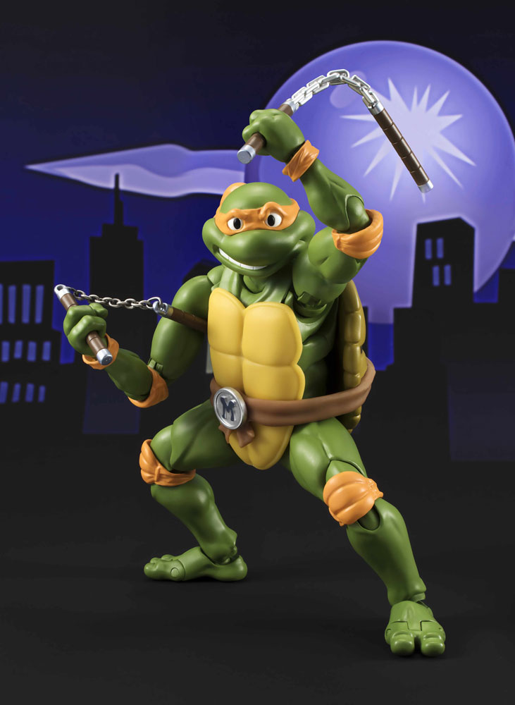 Teenage Mutant Ninja Turtles S.H.Figuarts Action Fig. Michelangelo Tamashii