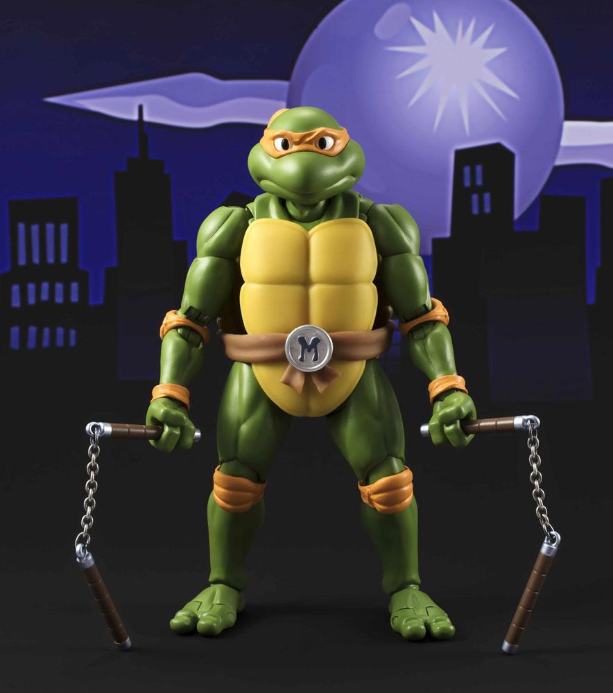 Teenage Mutant Ninja Turtles S.H.Figuarts Action Fig. Michelangelo Tamashii