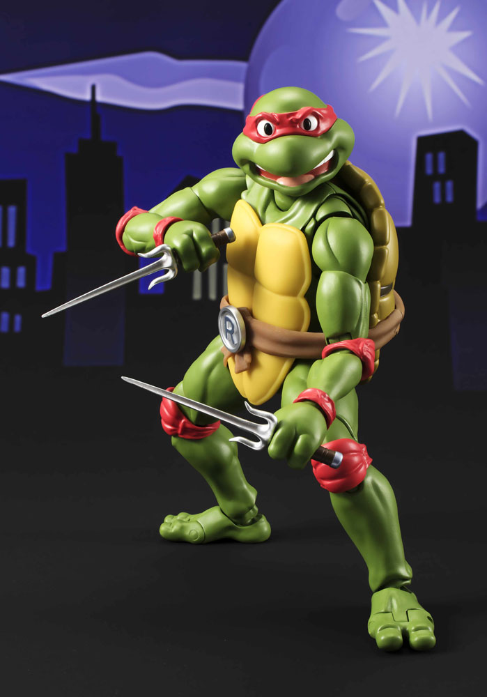 Teenage Mutant Ninja Turtles S.H. Figuarts Action Figure Raphael Tamashii