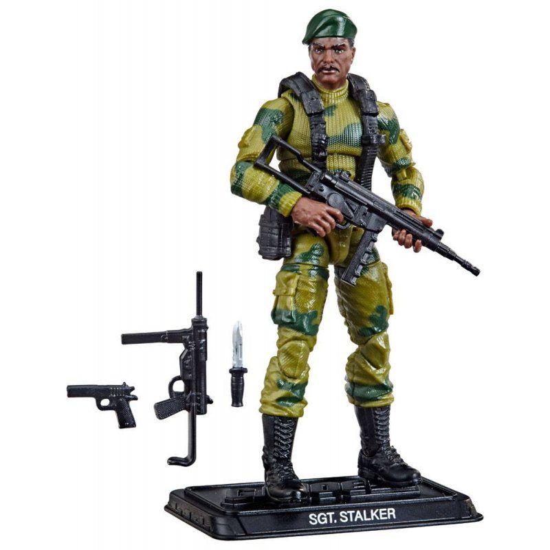 G.I. Joe Retro Action Figure Lonzo Stalker Wilkinson 10 cm