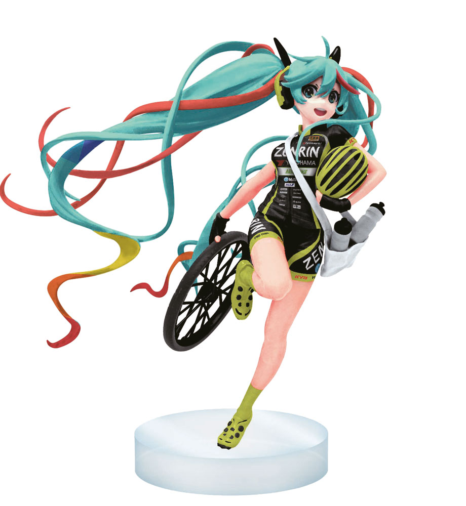 Racing Miku Figure Hatsune Miku 2016 Racing Team Ukyo Version 17 cm