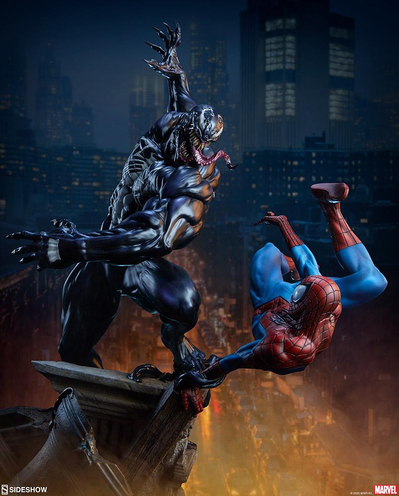 Marvel: Spider-Man vs Venom Maquette