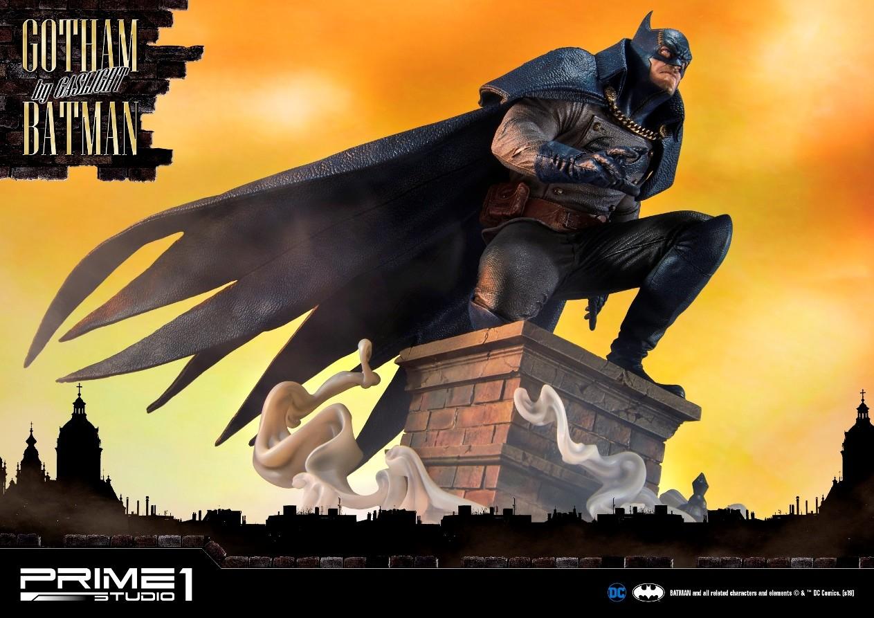 Batman Arkham Origins Statue 1/5 Gotham Gaslight Batman Blue Version 57 cm