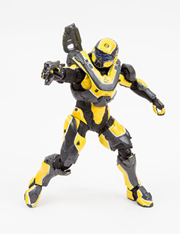 ACTION FIGURE HALO 5 : GUARDIANS - SERIES 1 SPARTAN ATHLON