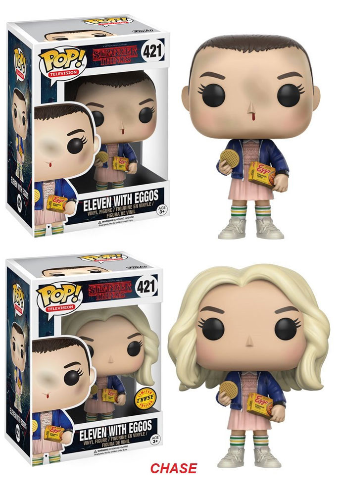 Funko POP! Television - Stranger Things Eleven with Eggos + Chase 10 cm