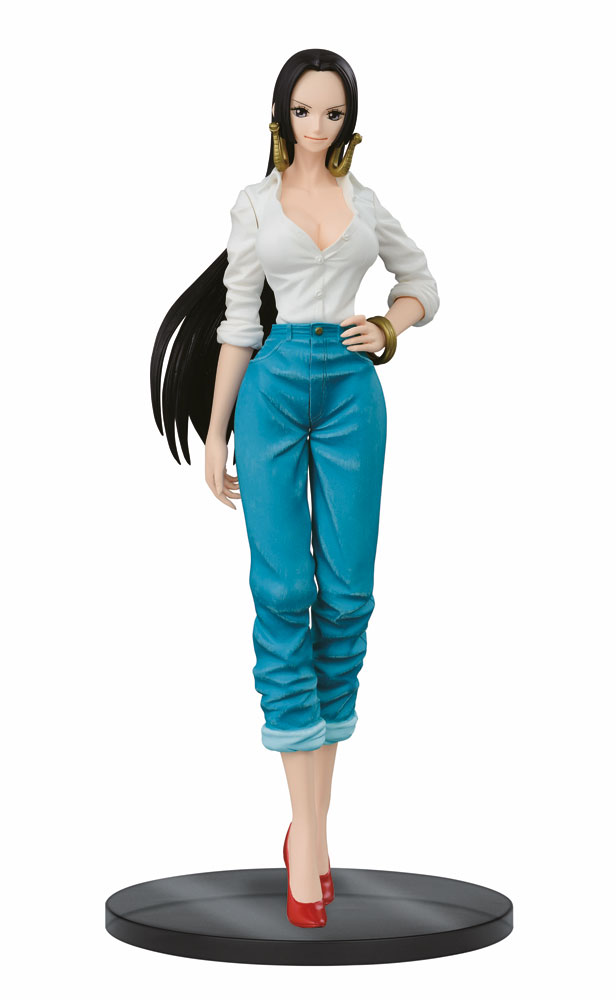 One Piece Jeans Freak The Last World Figure Boa Hancock 21 cm