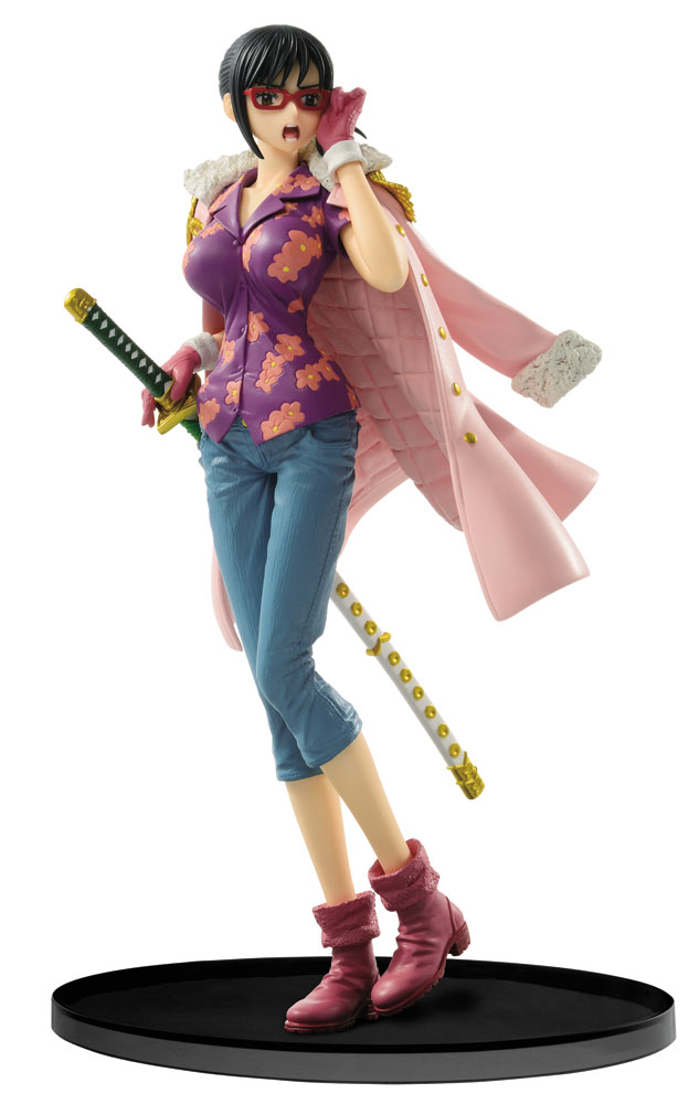 One Piece SCultures Figure Big Zoukeio 6 Tashigi 16 cm
