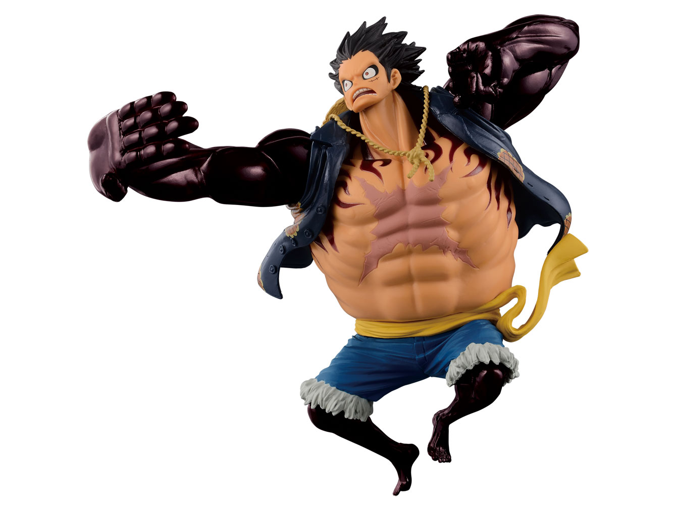 One Piece SCultures Figure Big Zoukeio SpecialGear 4th Monkey D Luffy 16 cm