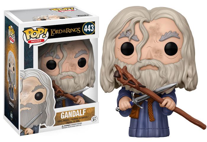 Funko POP! Movies Lord Of The Rings - Gandalf Vinyl Figure 10 cm