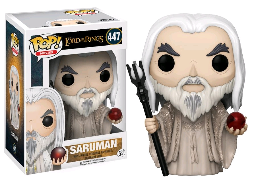 Funko POP! Movies Lord Of The Rings - Saruman Vinyl Figure 10 cm