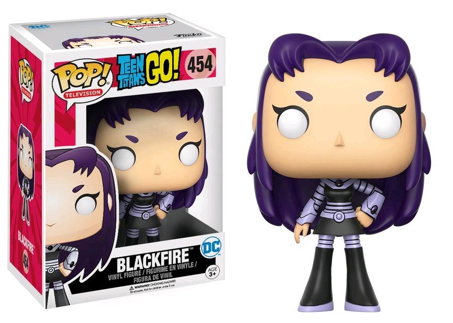 Funko POP! Television Teen Titans Go! - Blackfire Vinyl Figure 10 cm