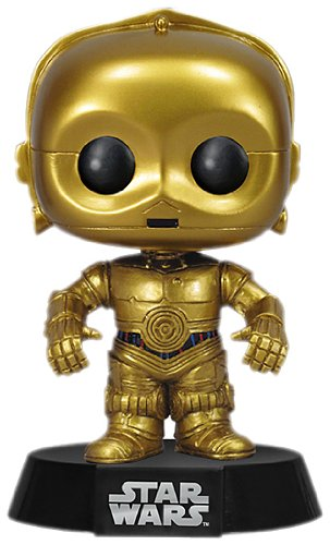 Star Wars POP! Vinyl Bobble-Head C-3PO Vinyl Figure 10 cm