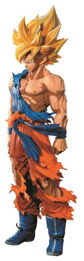 Dragonball Z Master StarsPiece Fig. SuperSaiyan Goku Manga Dimensions 34 cm