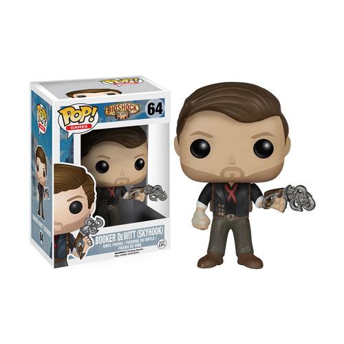 BioShock POP! Games Vinyl Figure Booker DeWitt & Skyhook 9 cm