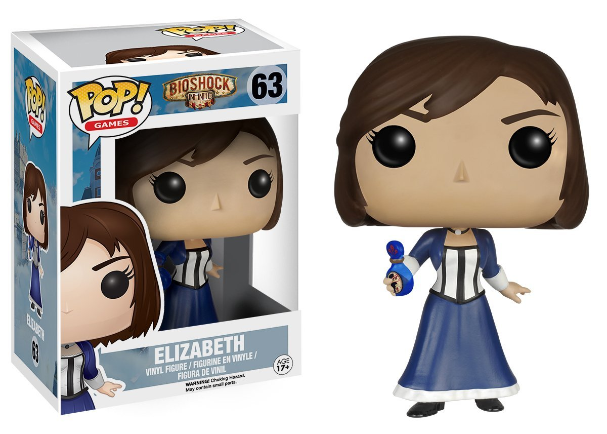 BioShock POP! Games Vinyl Figure Elizabeth 10 cm