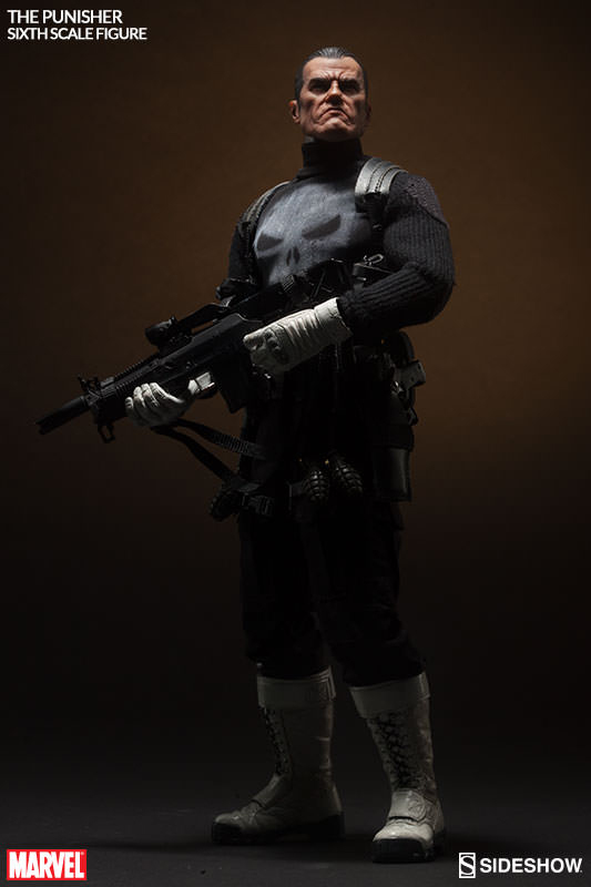 Marvel Comics Action Figure 1/6 The Punisher 30 cm