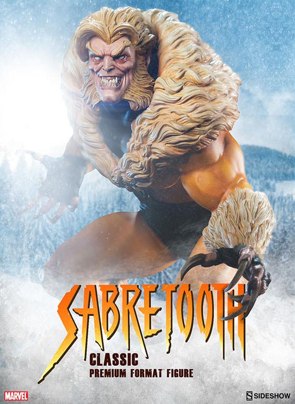 Sabertooth Classic Premium Format Figure 45 cm