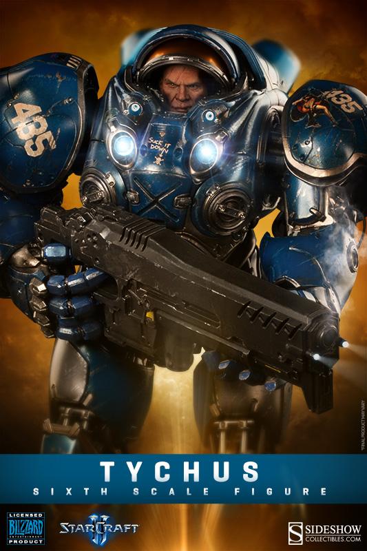 StarCraft II Action Figure 1/6 Tychus 40 cm