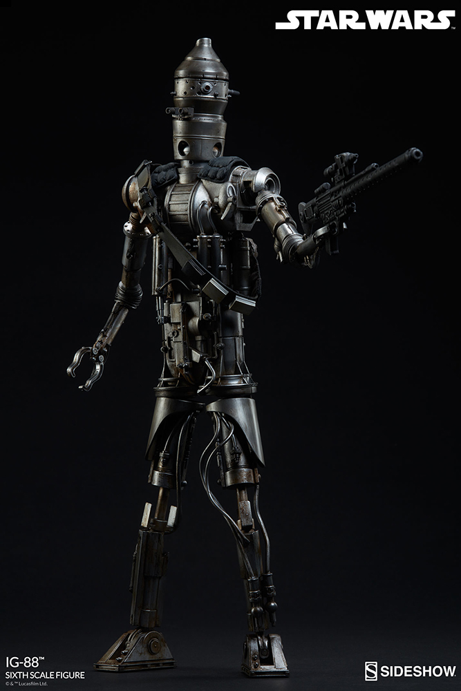 Star Wars 1/6 Action Figure IG-88 Exclusive Edition 35 cm