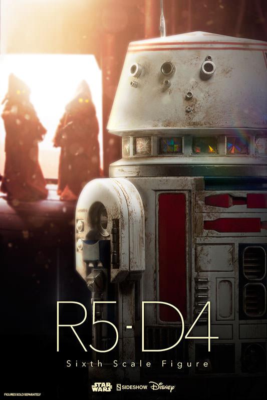 Star Wars 1/6 Action Figure R5-D4 23 cm
