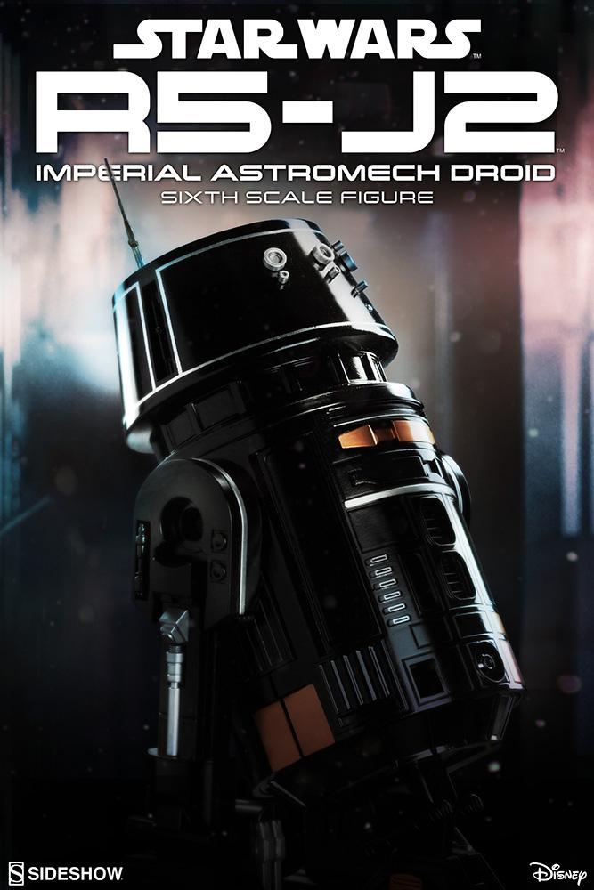 Star Wars A. Figure 1/6 R5-J2 Imperial Astromech Droid (Episode VI) 22 cm