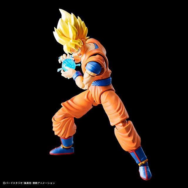 Dragonball Z Figure-rise Standart Model Kit Super Saiyan Son Goku 18 cm