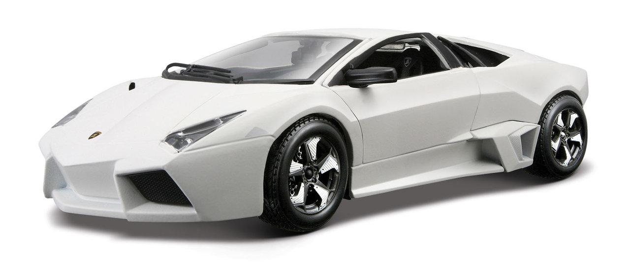 Lamborghini Reventon scale 1:24 (White/Branco) 25 cm