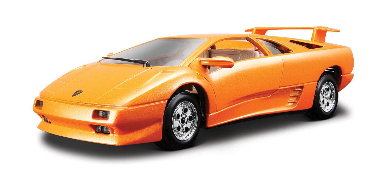 Lamborghini Diablo scale 1:24 (Orange/Laranja) 25 cm