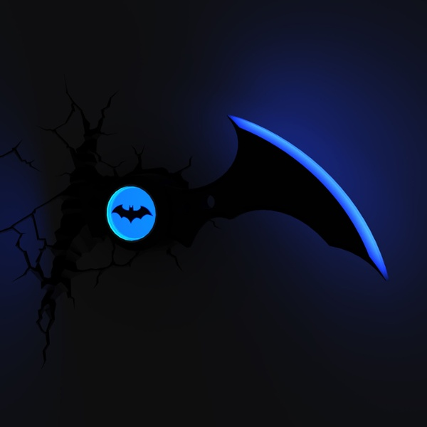 DC Comics: Batarang 3D Light