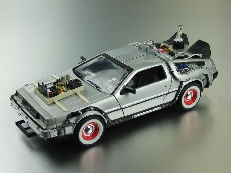 Back to the Future 3 : DeLorean 1:24