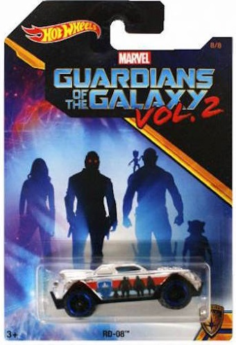 Hot Wheels Guardians Of The Galaxy Vol 2 - RD-08 Scale 1:64