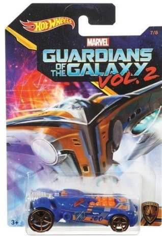 Hot Wheels Guardians Of The Galaxy Vol 2 - Rocketfire Scale 1:64